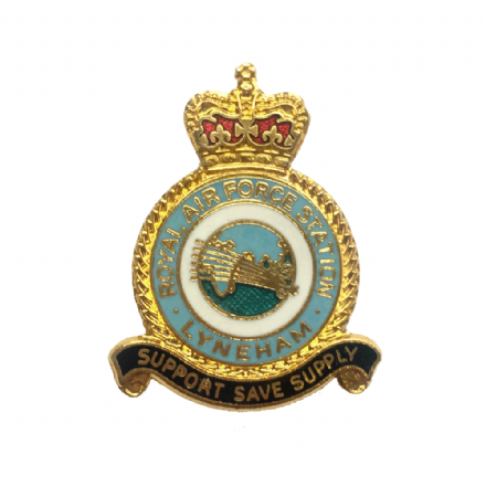 Royal Air Force RAF Station Lyneham Lapel Badge